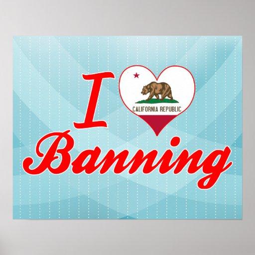Amo el prohibir, California Poster