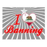 Amo el prohibir, California Tarjeta Postal