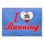 Amo el prohibir, California Tarjetas