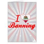 Amo el prohibir, California Tarjetón
