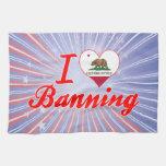 Amo el prohibir, California Toallas De Cocina