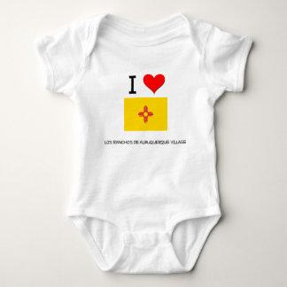 Amo el pueblo nuevo Mexi del De Albuquerque de los T-shirts