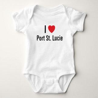 Amo el puente de bebé de Sta. Lucía del puerto Mameluco De Bebé