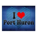 Amo el puerto Huron, Estados Unidos Postal