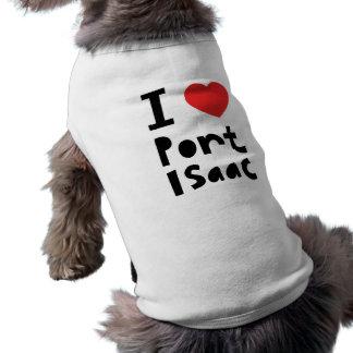 Amo el puerto Isaac Ropa De Perro