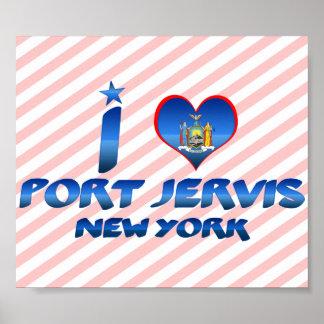 Amo el puerto Jervis Nueva York Impresiones