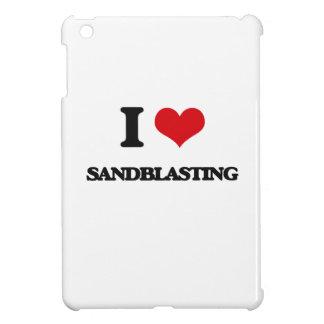 Amo el pulir con chorro de arena