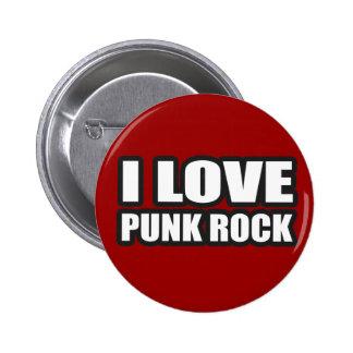 AMO EL PUNK ROCK para los chicas punkyes los indiv Pin