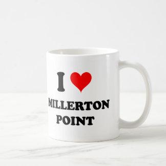 Amo el punto California de Millerton Tazas De Café
