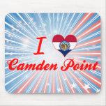 Amo el punto de Camden, Missouri Alfombrillas De Ratones
