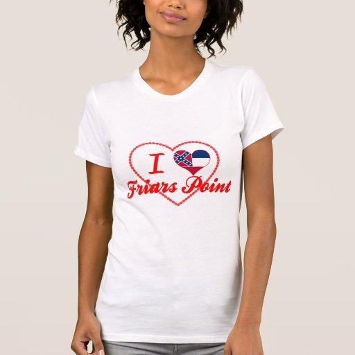 Amo el punto de los frailes, Mississippi Camisetas