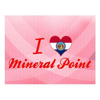 Amo el punto mineral, Missouri Postales
