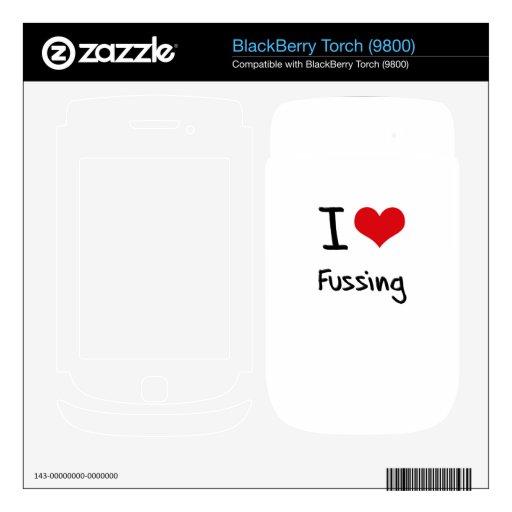 Amo el quejarme skins para BlackBerry