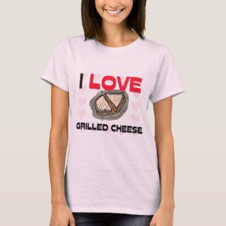 Amo el queso asado a la parrilla playera