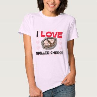 Amo el queso asado a la parrilla polera