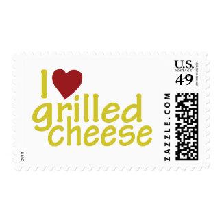 Amo el queso asado a la parrilla sello