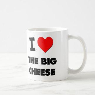 Amo el queso grande taza