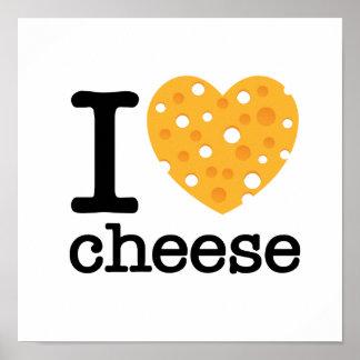 Amo el queso impresiones