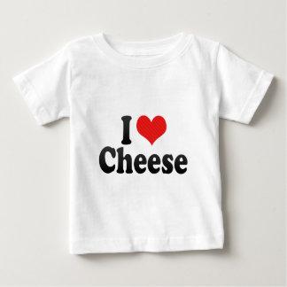 Amo el queso playera de bebé