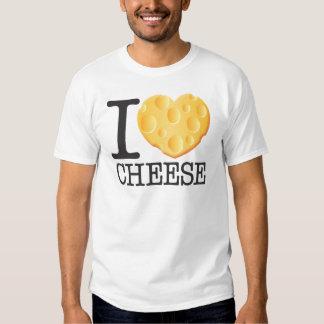 Amo el queso remera