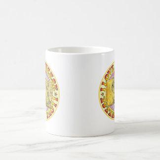 Amo el queso taza de café