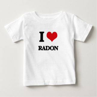 Amo el radón playeras