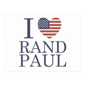 Amo el rand Paul Postal