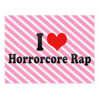 Amo el rap de Horrorcore Postal