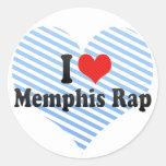 Amo el rap de Memphis Etiqueta