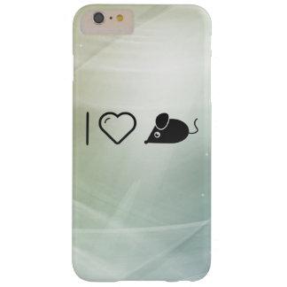Amo el ratón funda para iPhone 6 plus barely there