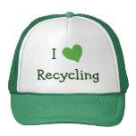 Amo el reciclar gorras de camionero
