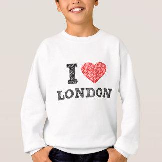 Amo el recuerdo del bosquejo de Londres Poleras
