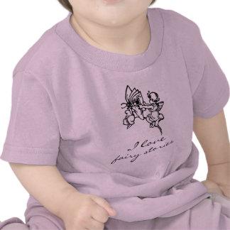 Amo el regalo de la camiseta del libro del bebé de