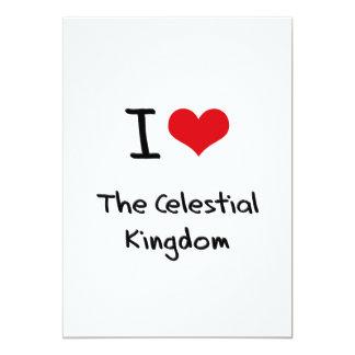 Amo el reino celestial invitación 12,7 x 17,8 cm