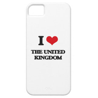 Amo el Reino Unido iPhone 5 Case-Mate Cárcasa