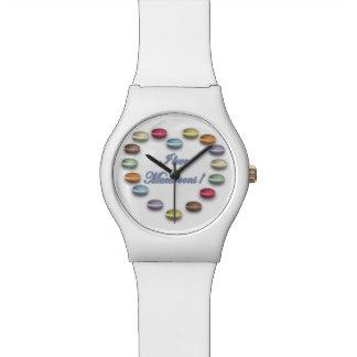 Amo el reloj de los macarrones