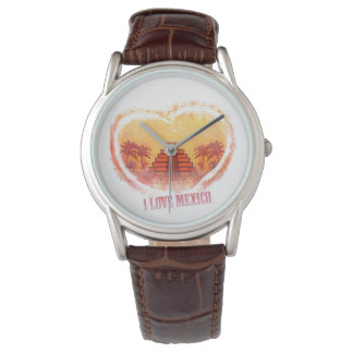 Amo el reloj de México