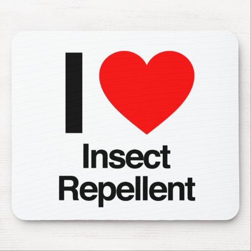 amo el repelente de insectos alfombrillas de raton