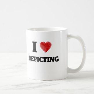 Amo el representar taza
