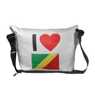 amo el República del Congo Bolsa De Mensajería
