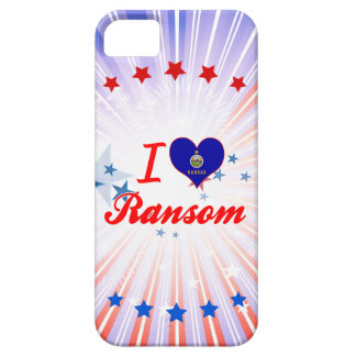 Amo el rescate Kansas iPhone 5 Cárcasas