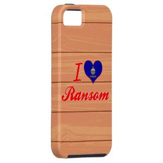 Amo el rescate Kansas iPhone 5 Case-Mate Cárcasa