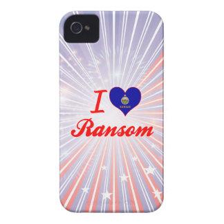 Amo el rescate Kansas Case-Mate iPhone 4 Cobertura