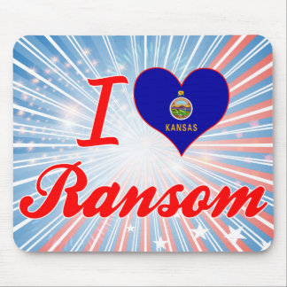 Amo el rescate Kansas Tapetes De Raton
