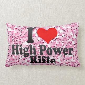 Amo el rifle del poder más elevado almohada