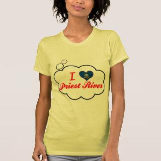 Amo el río del sacerdote Idaho Camisetas
