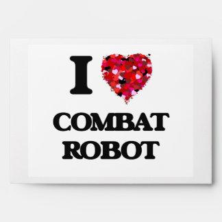 Amo el robot del combate sobre