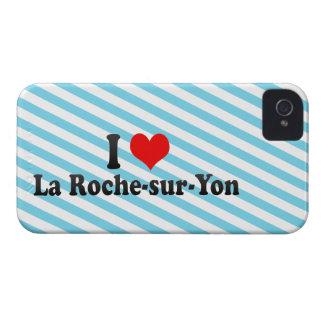 Amo el Roche-sur-Yon del La, Francia iPhone 4 Fundas