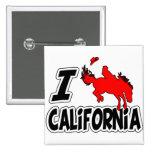 Amo el rodeo California Pins
