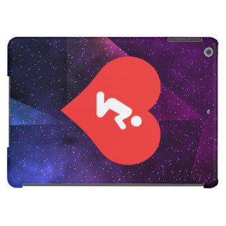 Amo el rogar de símbolo fresco funda para iPad air